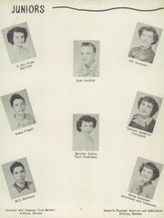 Page 11, 1952 Edition, Sharon High School - Cardinal Yearbook (Sharon, KS) online yearbook collection