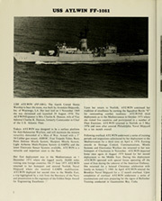 Page 6, 1982 Edition, Aylwin (FF 1081) - Naval Cruise Book online yearbook collection