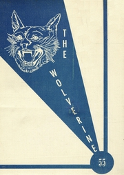 1955 Edition, Marquette High School - Wolverine Yearbook (Marquette, KS)