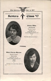 Page 11, 1917 Edition, Cawker City High School - Syllabus Yearbook (Cawker City, KS) online yearbook collection