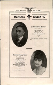 Page 12, 1917 Edition, Cawker City High School - Syllabus Yearbook (Cawker City, KS) online yearbook collection