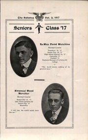 Page 13, 1917 Edition, Cawker City High School - Syllabus Yearbook (Cawker City, KS) online yearbook collection