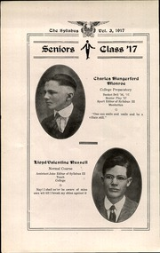 Page 14, 1917 Edition, Cawker City High School - Syllabus Yearbook (Cawker City, KS) online yearbook collection