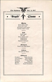 Cawker City High School - Syllabus Yearbook (Cawker City, KS) online yearbook collection, 1917 Edition, Page 25