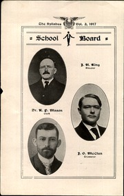 Page 4, 1917 Edition, Cawker City High School - Syllabus Yearbook (Cawker City, KS) online yearbook collection