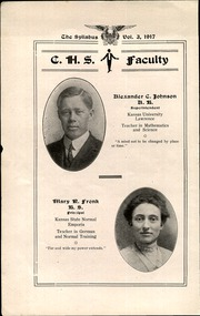 Page 6, 1917 Edition, Cawker City High School - Syllabus Yearbook (Cawker City, KS) online yearbook collection