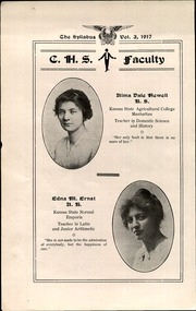 Page 8, 1917 Edition, Cawker City High School - Syllabus Yearbook (Cawker City, KS) online yearbook collection