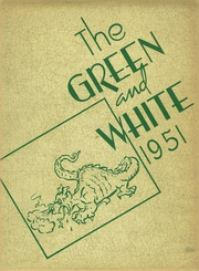 1951 Edition, Geneseo High School - Green and White Yearbook (Geneseo, KS)