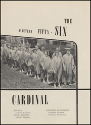 Page 7, 1956 Edition, Bird City Rural High School - Cardinal Yearbook (Bird City, KS) online yearbook collection