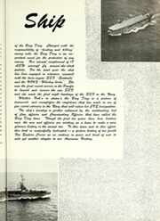 Page 7, 1955 Edition, Badoeng Strait (CVE 116) - Naval Cruise Book online yearbook collection