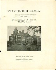 Page 5, 1911 Edition, Cherokee County Community High School - Checoukan (Columbus, KS) online yearbook collection