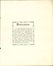 Page 9, 1911 Edition, Cherokee County Community High School - Checoukan (Columbus, KS) online yearbook collection
