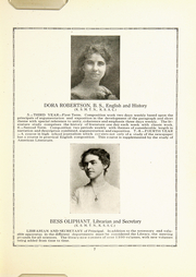 Page 15, 1921 Edition, Cherokee County Community High School - Checoukan (Columbus, KS) online yearbook collection