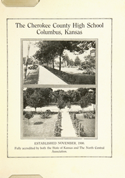 Page 7, 1921 Edition, Cherokee County Community High School - Checoukan (Columbus, KS) online yearbook collection