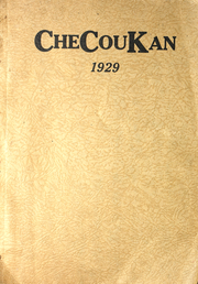 1929 Edition, Cherokee County Community High School - Checoukan (Columbus, KS)