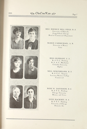 Page 11, 1929 Edition, Cherokee County Community High School - Checoukan (Columbus, KS) online yearbook collection