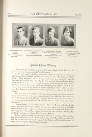 Page 15, 1929 Edition, Cherokee County Community High School - Checoukan (Columbus, KS) online yearbook collection