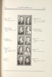 Page 17, 1929 Edition, Cherokee County Community High School - Checoukan (Columbus, KS) online yearbook collection