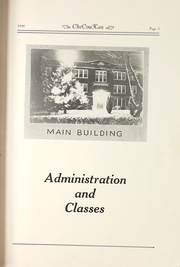 Page 9, 1929 Edition, Cherokee County Community High School - Checoukan (Columbus, KS) online yearbook collection