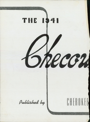 Page 6, 1941 Edition, Cherokee County Community High School - Checoukan (Columbus, KS) online yearbook collection