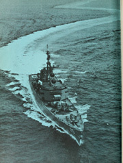Page 12, 1963 Edition, Bainbridge (DLGN 25) - Naval Cruise Book online yearbook collection
