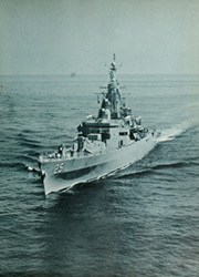 Page 17, 1963 Edition, Bainbridge (DLGN 25) - Naval Cruise Book online yearbook collection