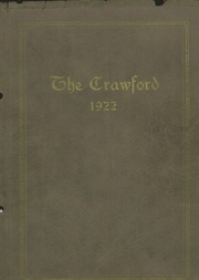 1922 Edition, Crawford Community High School - Crawford Yearbook (Cherokee, KS)