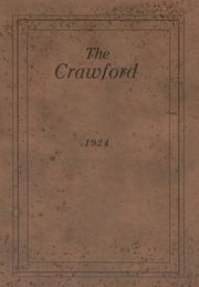 1924 Edition, Crawford Community High School - Crawford Yearbook (Cherokee, KS)