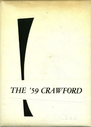 1959 Edition, Crawford Community High School - Crawford Yearbook (Cherokee, KS)
