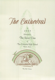 Page 9, 1929 Edition, Cathedral High School - Cathedral Yearbook (Wichita, KS) online yearbook collection