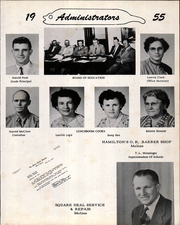 Page 7, 1955 Edition, Moline High School - Hornet Yearbook (Moline, KS) online yearbook collection