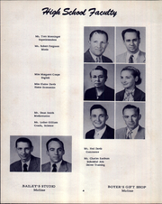 Page 8, 1955 Edition, Moline High School - Hornet Yearbook (Moline, KS) online yearbook collection