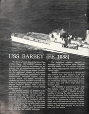 Page 6, 1980 Edition, Barbey (FF 1088) - Naval Cruise Book online yearbook collection