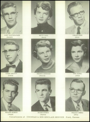 Page 14, 1956 Edition, Ford High School - Pioneer Yearbook (Ford, KS) online yearbook collection