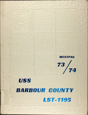 1974 Edition, Barbour County (LST 1195) - Naval Cruise Book