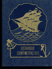 1975 Edition, Barbour County (LST 1195) - Naval Cruise Book