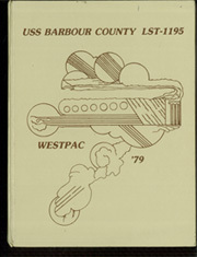 1979 Edition, Barbour County (LST 1195) - Naval Cruise Book
