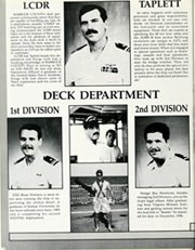 Page 14, 1988 Edition, Barbour County (LST 1195) - Naval Cruise Book online yearbook collection