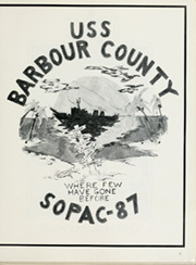 Page 7, 1988 Edition, Barbour County (LST 1195) - Naval Cruise Book online yearbook collection