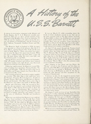 Page 8, 1945 Edition, Barnett (APA 5) - Naval Cruise Book online yearbook collection