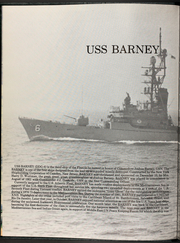 Page 6, 1990 Edition, Barney (DDG 6) - Naval Cruise Book online yearbook collection