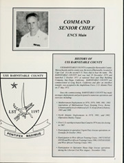 Page 9, 1993 Edition, Barnstable County (LST 1197) - Naval Cruise Book online yearbook collection