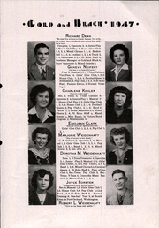 Page 13, 1947 Edition, Glen Elder High School - Gold and Black Yearbook (Glen Elder, KS) online yearbook collection