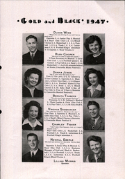 Page 15, 1947 Edition, Glen Elder High School - Gold and Black Yearbook (Glen Elder, KS) online yearbook collection