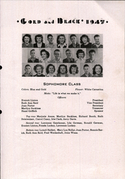 Page 17, 1947 Edition, Glen Elder High School - Gold and Black Yearbook (Glen Elder, KS) online yearbook collection