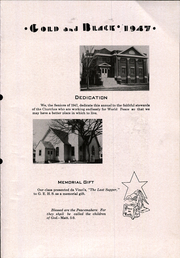 Page 7, 1947 Edition, Glen Elder High School - Gold and Black Yearbook (Glen Elder, KS) online yearbook collection