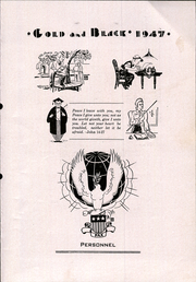 Page 9, 1947 Edition, Glen Elder High School - Gold and Black Yearbook (Glen Elder, KS) online yearbook collection