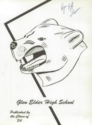 Page 5, 1956 Edition, Glen Elder High School - Gold and Black Yearbook (Glen Elder, KS) online yearbook collection