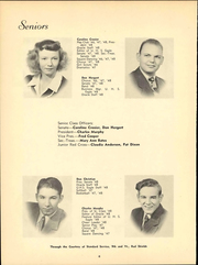 Page 12, 1948 Edition, University High School - Eagle Yearbook (Lawrence, KS) online yearbook collection