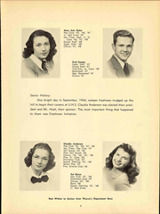 Page 13, 1948 Edition, University High School - Eagle Yearbook (Lawrence, KS) online yearbook collection